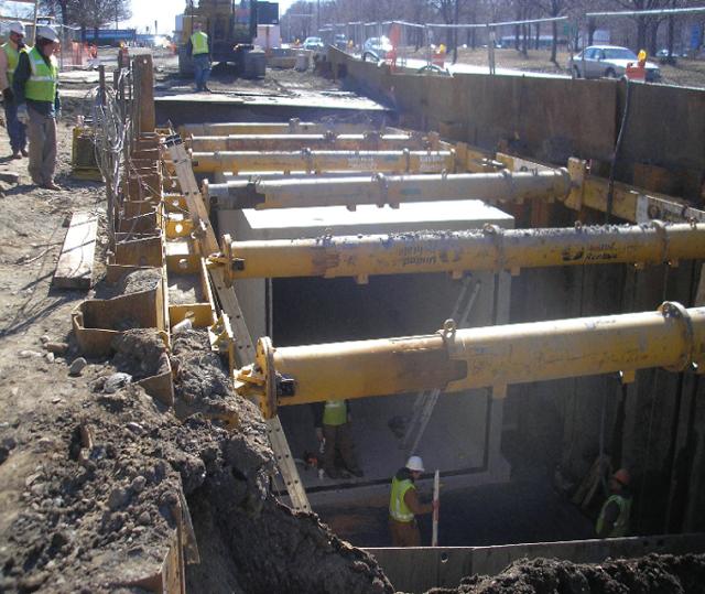 Реконструкция старой системы очистных сооружений города и сооружение нового дренажного тонеля. Применяемые материалы Xypex Admix C-500