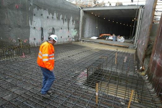 Подземный транспортный тоннель. Гидроизоляция подземного транспортного тоннеля. Применяемые материалы Xypex Admix.