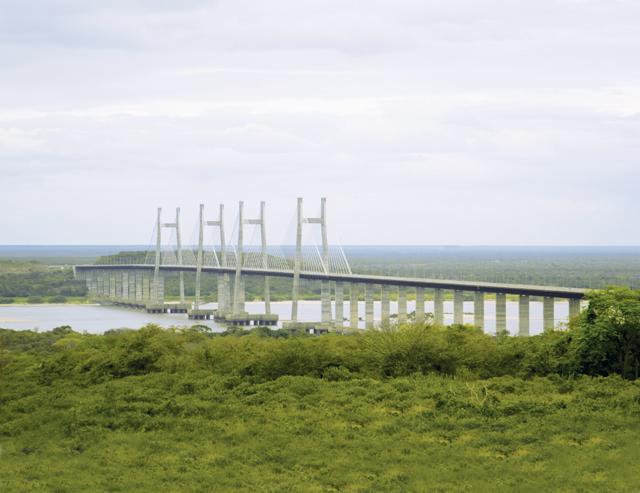 Мост через реку Ориноко Гидроизоляция опор и полотна моста. Применяемые материалы Xypex Concentrate (63 000 м.кв.).